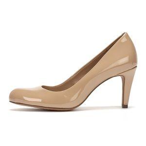Clark's Somerset Nude Beige Pumps Heels Womens 8